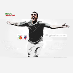 Hugo Almeida Website