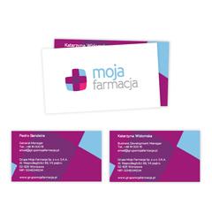 Moja Farmacja Visit Cards